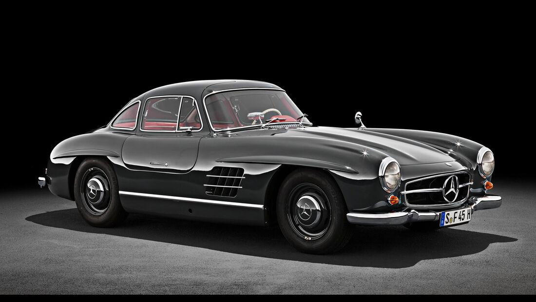 Mercedes SL Historie (1954-2021) W 198 300 SL Flügeltürer
