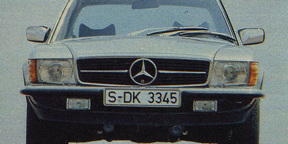Mercedes, SL, IAA 1979