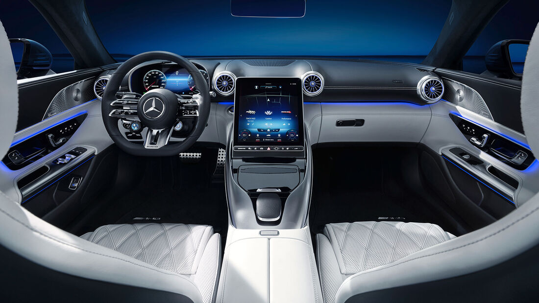 Mercedes SL Interieur