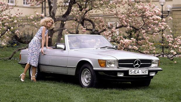 Mercedes SL R 107 (1971-1989)