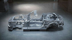 Mercedes SL Rohbau-Chassis