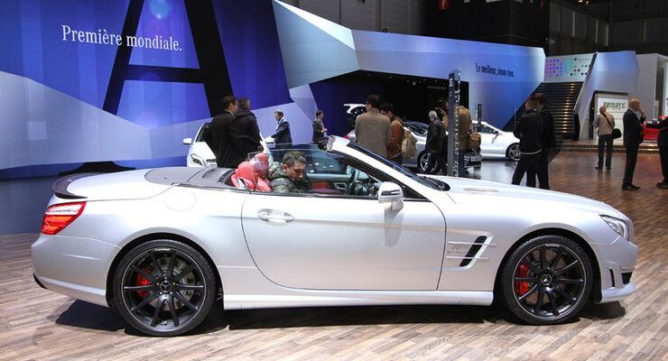 Mercedes SL63 AMG Auto-Salon Genf 2011