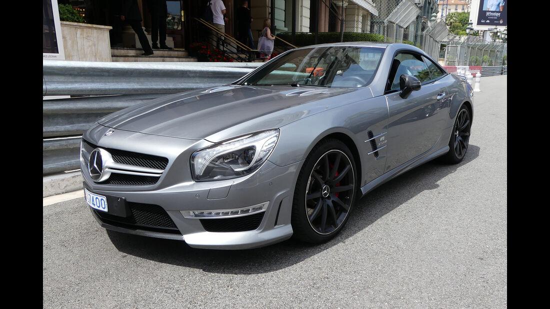 Mercedes SL63 AMG - Carspotting - GP Monaco 2017