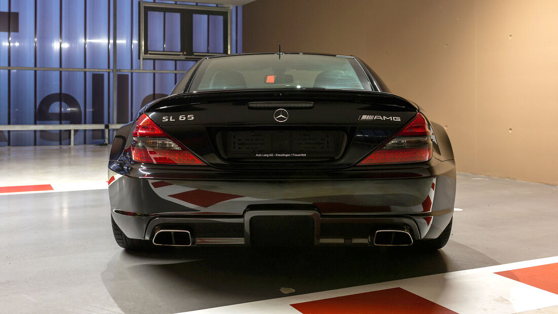Mercedes SL65 AMG Black Series - Sebastian Vettel - Verkauf - 2021