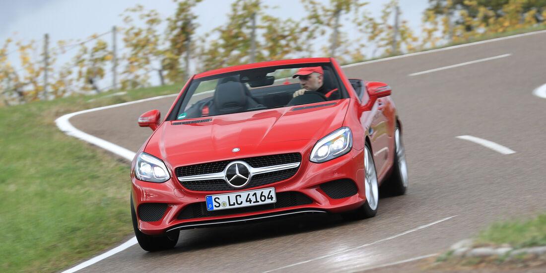 Mercedes SLC 250 d, Frontansicht