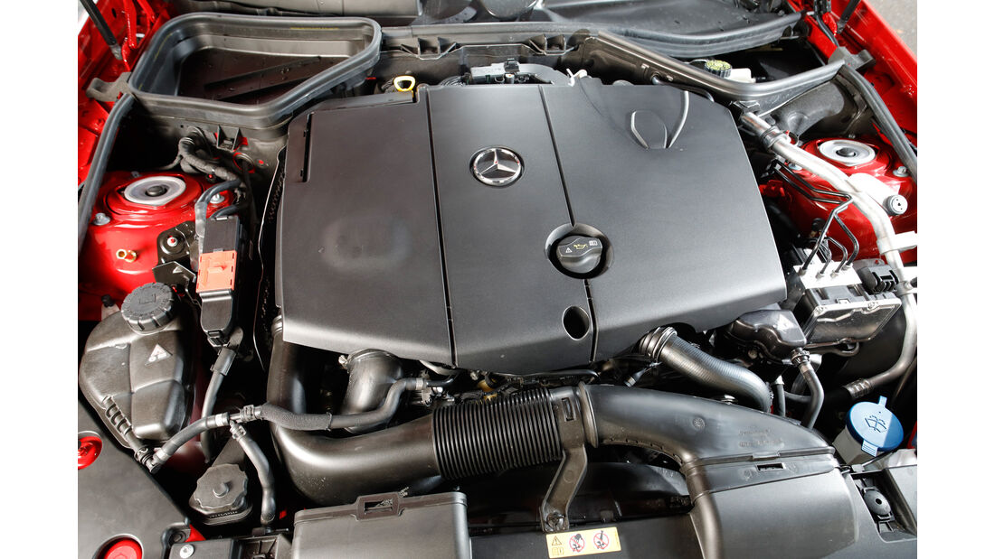Mercedes SLC 250 d, Motor