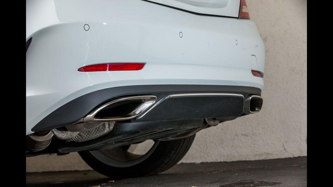 Mercedes SLC 300, Endrohre