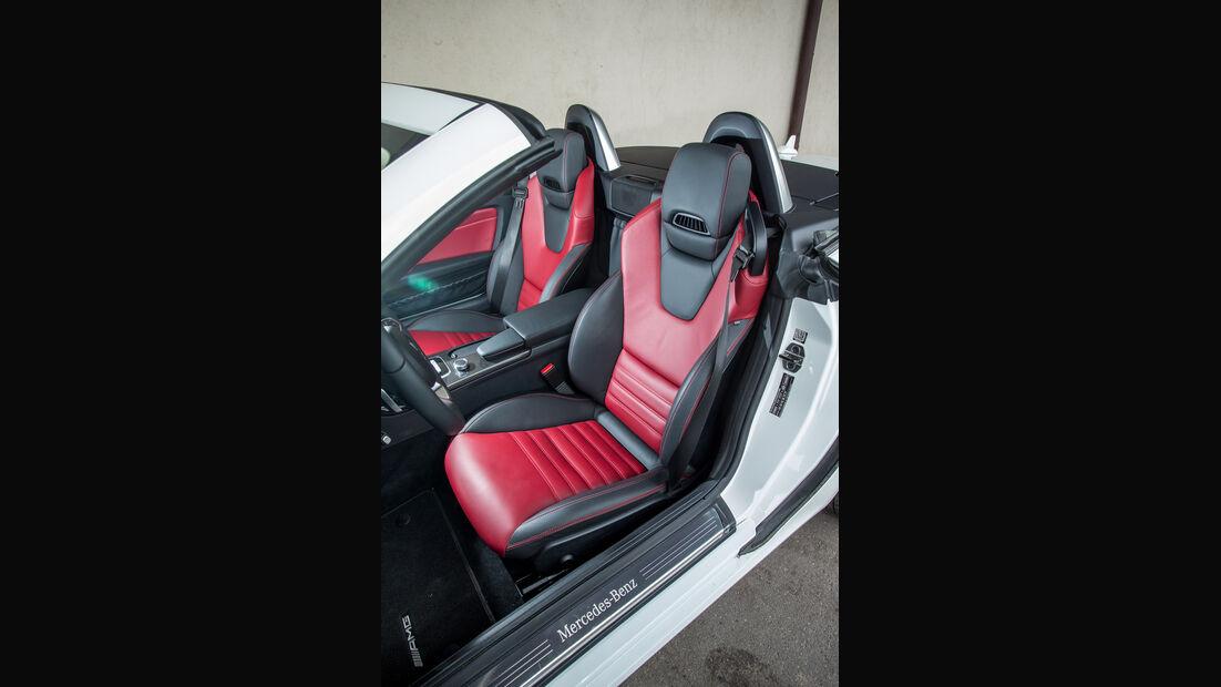 Mercedes SLC 300, Fahrersitz
