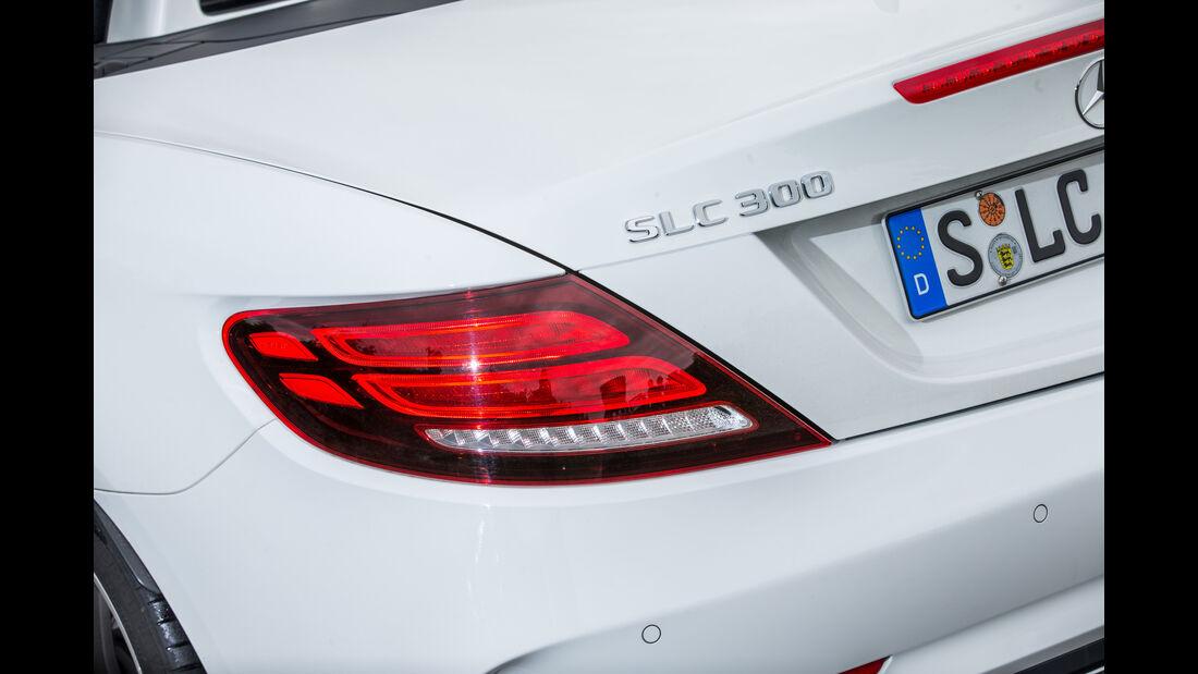Mercedes SLC 300, Heckleuchte