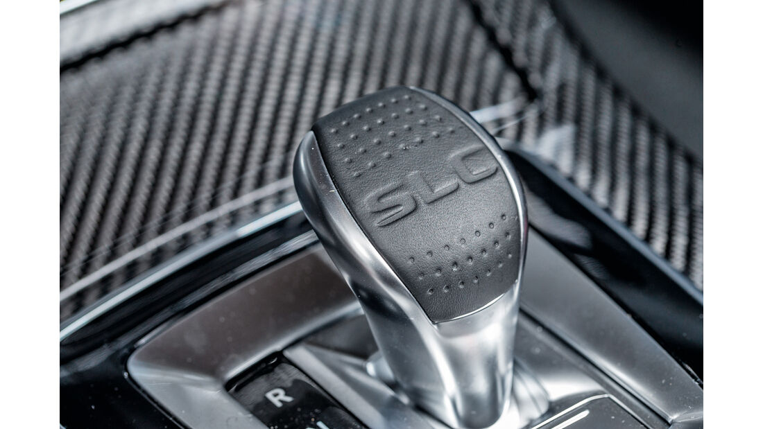 Mercedes SLC 300, Schalthebel