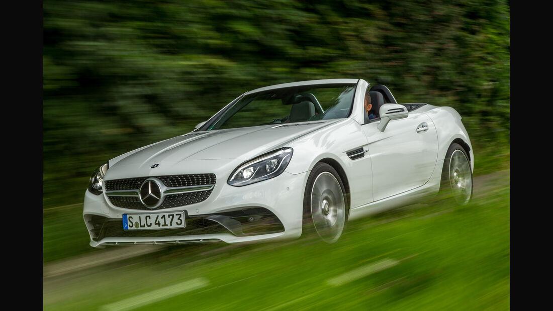 Mercedes SLC 300, Seitenansicht