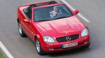 Mercedes SLK 200, Draufsicht