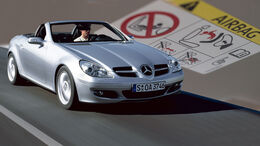 Mercedes SLK 2008 Takata Airbag Rückruf