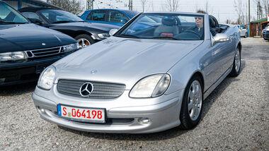 Mercedes SLK 230 K, Cabrios vom Kiesplatz