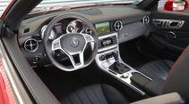 Mercedes SLK 250 CDI, Cockpit