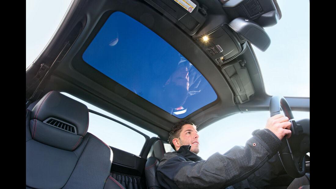 Mercedes SLK 250 CDI, Dachhimmel