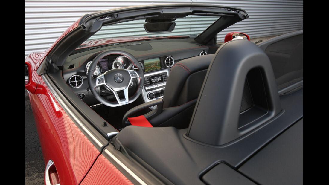 Mercedes SLK 250 CDI, Innenraum