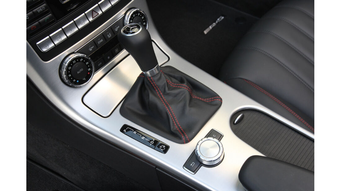 Mercedes SLK 250 CDI, Mittelkonsole