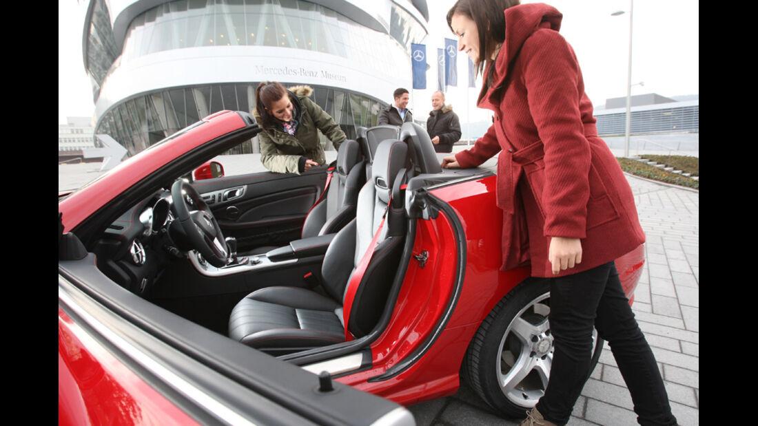 Mercedes SLK 250, Sitze