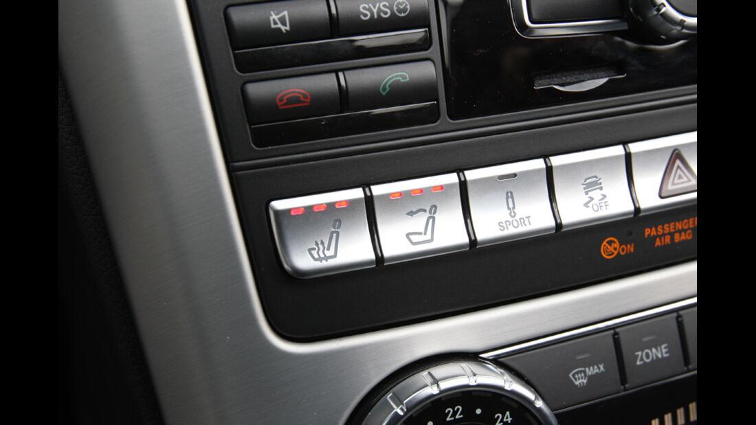 Mercedes SLK 250, Tasten, Sitzheizung