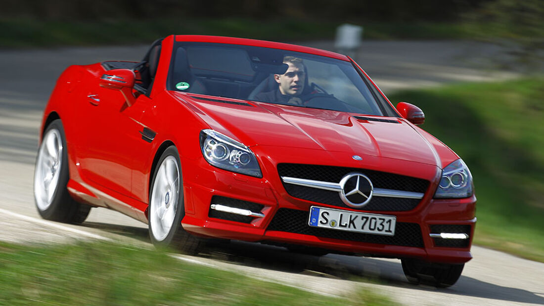 Mercedes SLK 350 Blue Efficiency