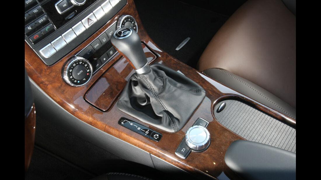 Mercedes SLK 350, Innenraum