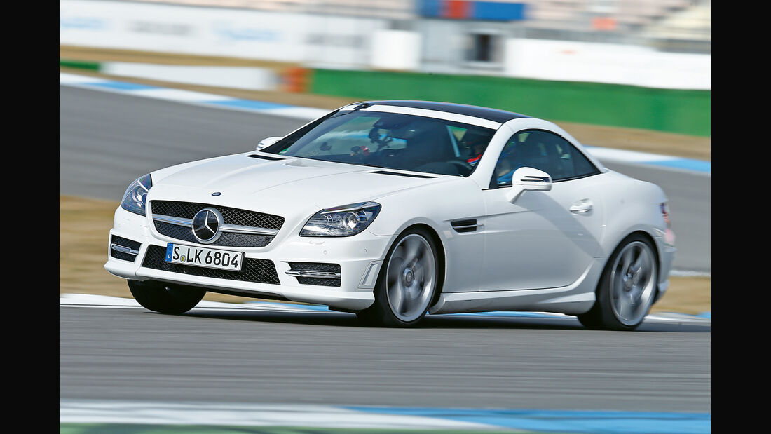 Mercedes SLK 350, Seitenansicht