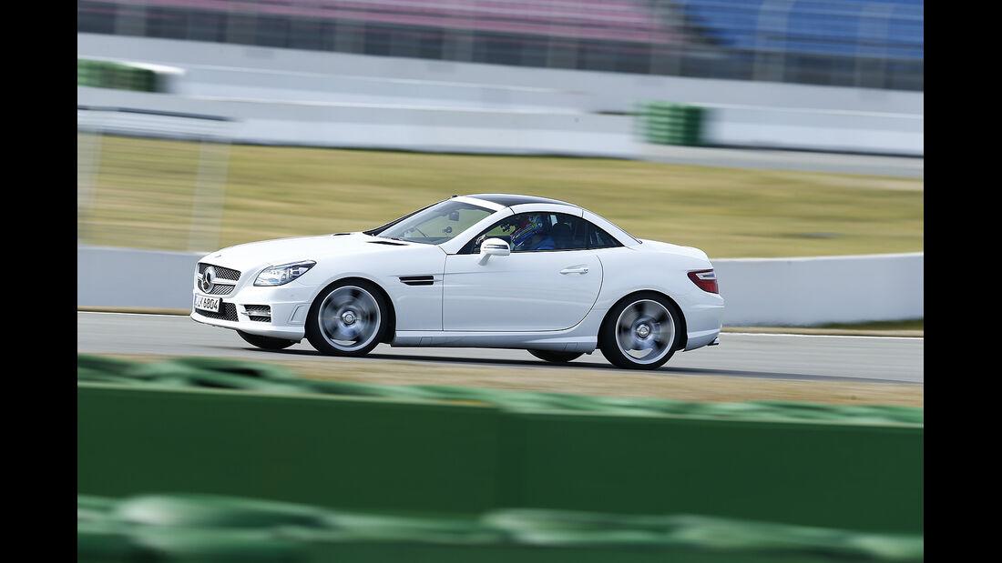 Mercedes SLK 350, Vergleichstest, spa 04/2014, Heftvorschau