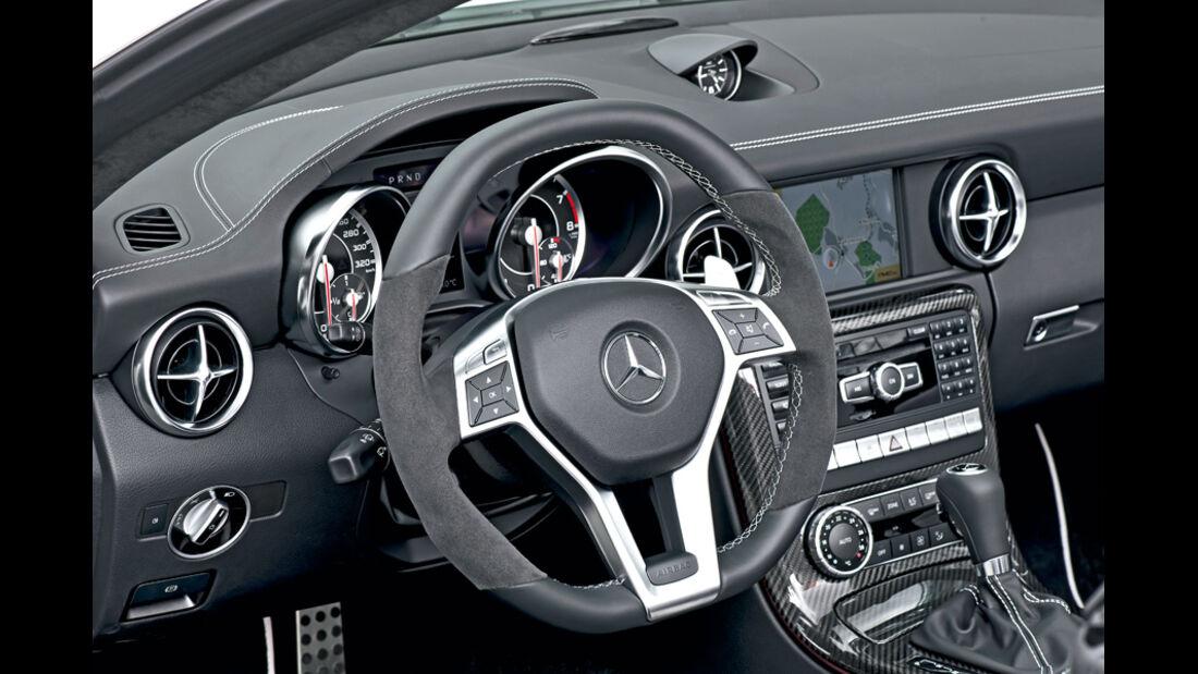 Mercedes SLK 55 AMG, Cockpit