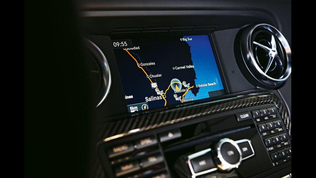 Mercedes SLK 55 AMG, Display