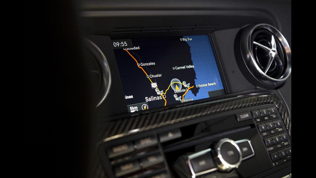 Mercedes SLK 55 AMG, Display Navigationsgerät