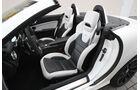 Mercedes SLK 55 AMG, Fahrersitz, Innenausstattung