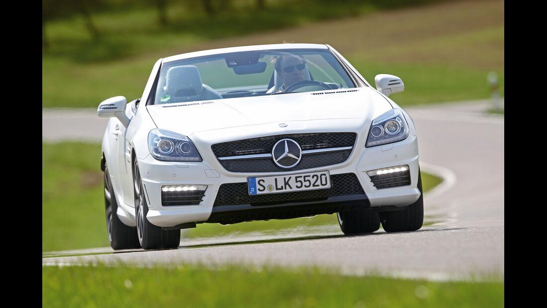 Mercedes SLK 55 AMG, Frontansicht