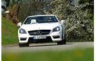 Mercedes SLK 55 AMG, Frontansicht, Kühlergrill