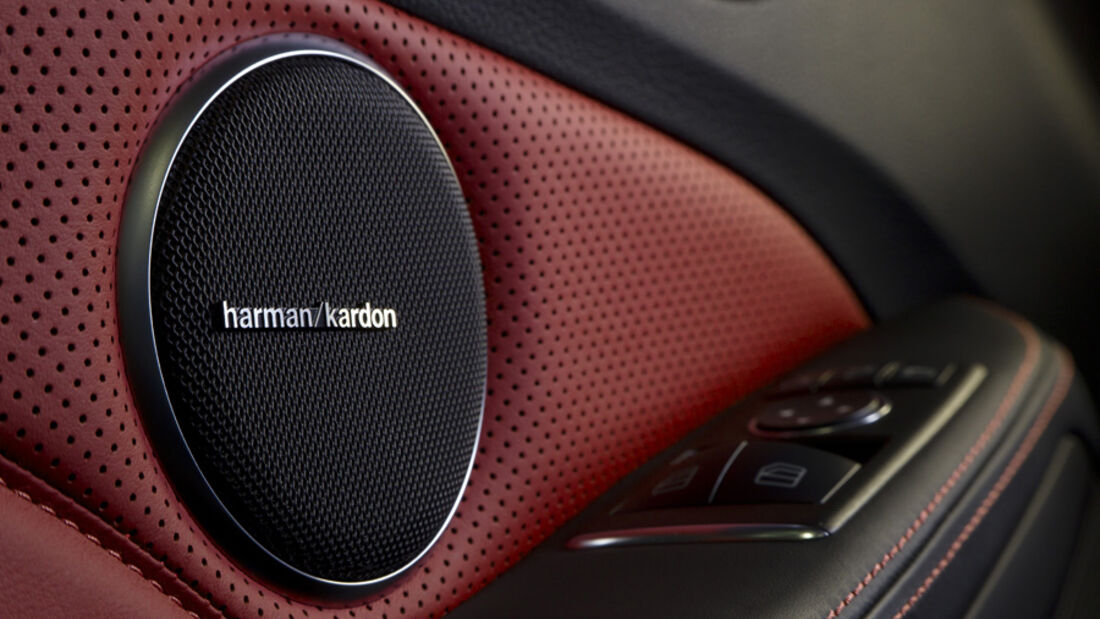 Mercedes SLK 55 AMG, Harman Box