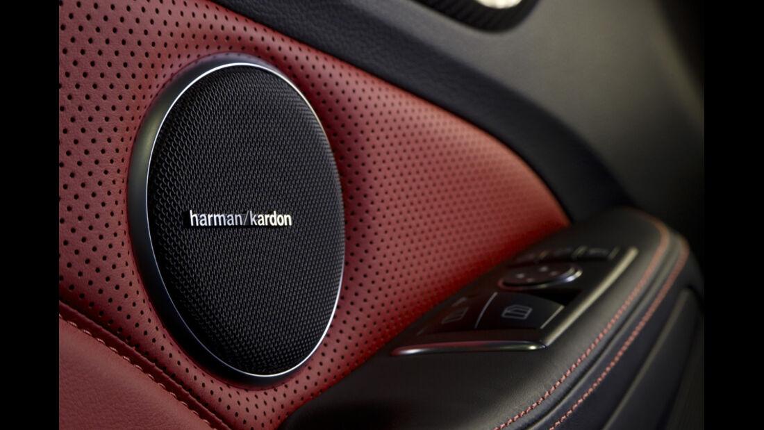 Mercedes SLK 55 AMG, Harman Box