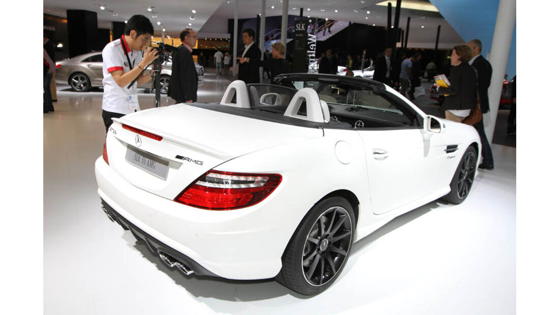 Mercedes SLK 55 AMG IAA
