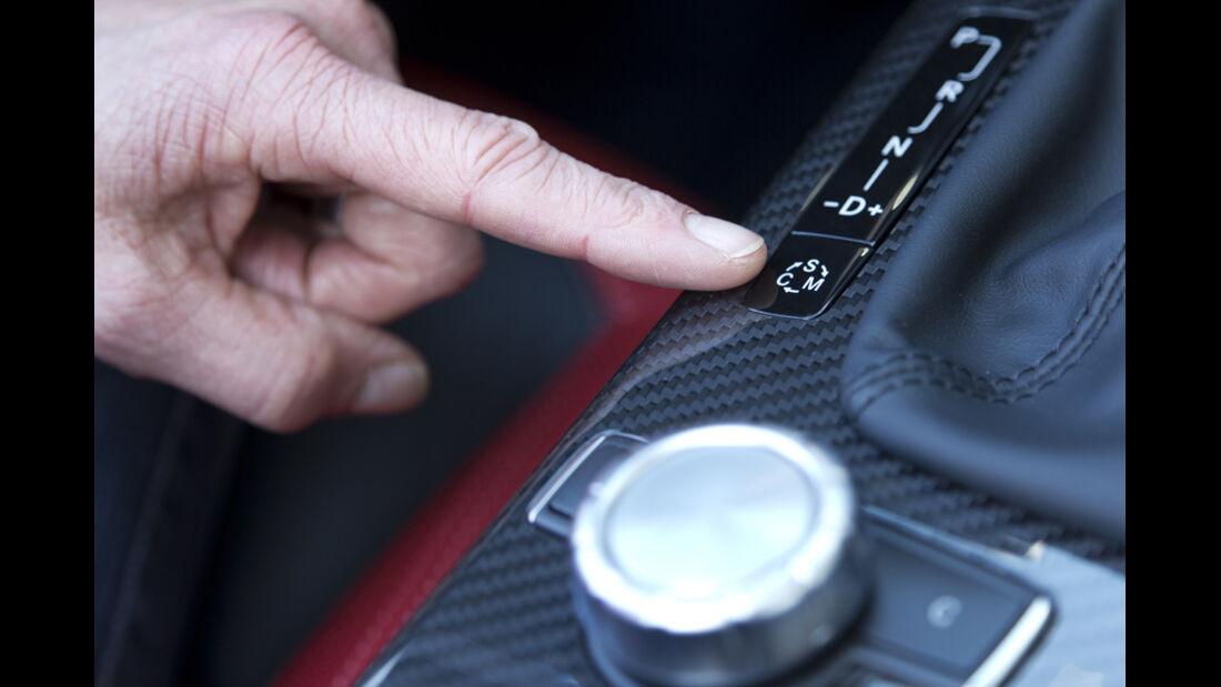 Mercedes SLK 55 AMG, Kofferraum