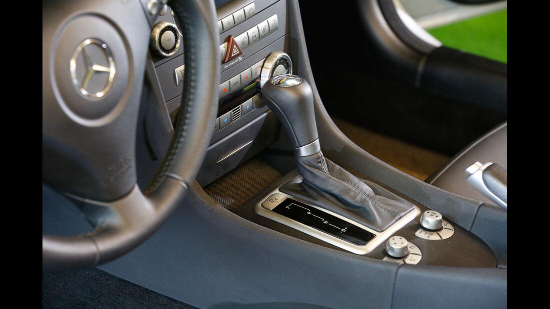 Mercedes SLK 55 AMG, Mittelkonsole