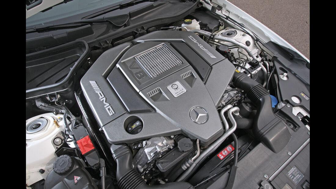 Mercedes SLK 55 AMG, Motor