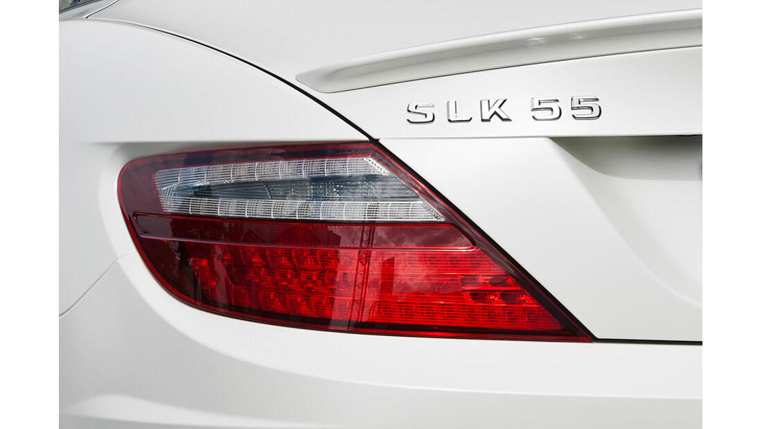 Mercedes SLK 55 AMG, Rücklicht