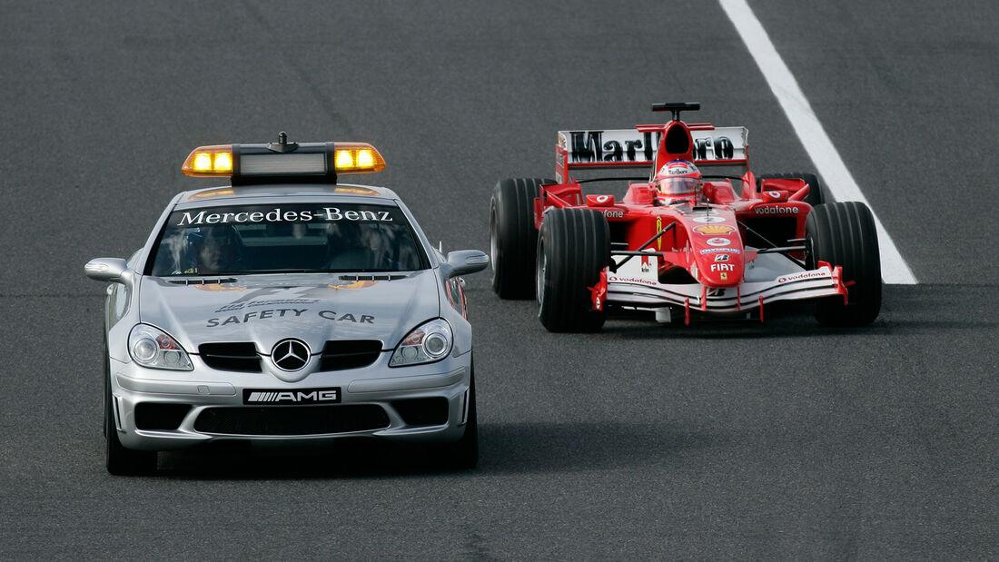 Mercedes SLK 55 AMG - Safety Car - GP Japan 2005 - Suzuka