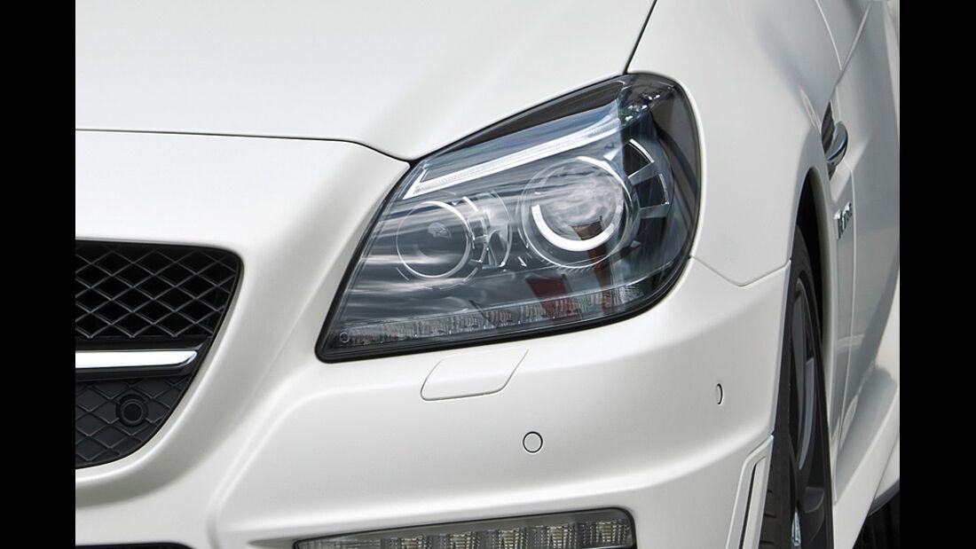Mercedes SLK 55 AMG, Scheinwerfer