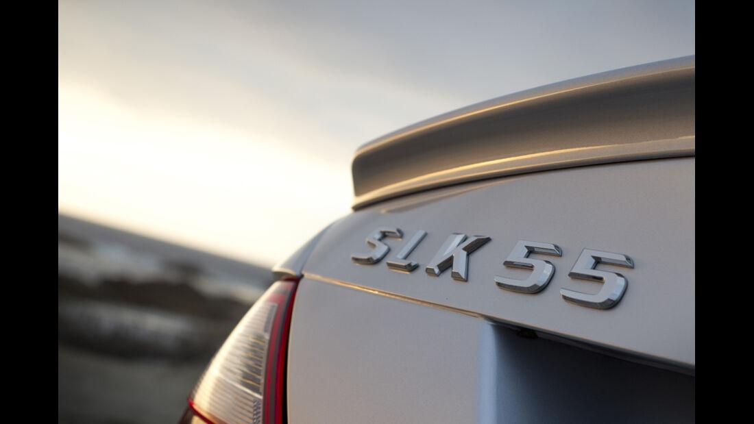 Mercedes SLK 55 AMG, Schriftzug