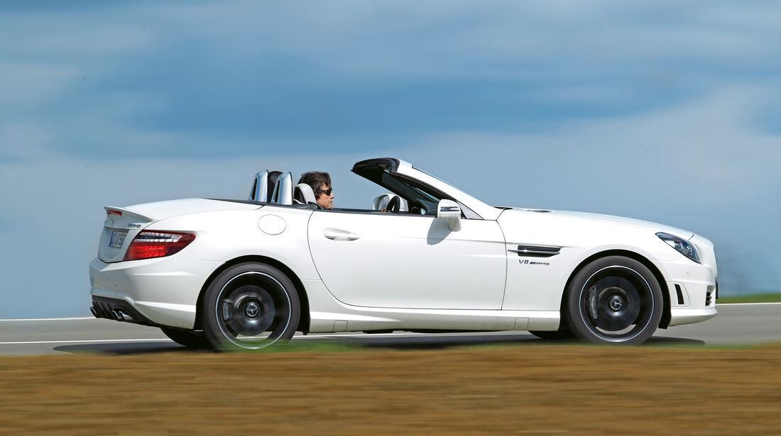 Mercedes SLK 55 AMG, Seitenansicht