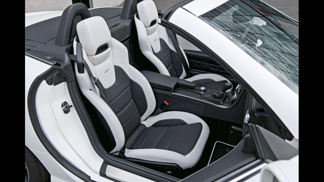 Mercedes SLK 55 AMG, Sitze
