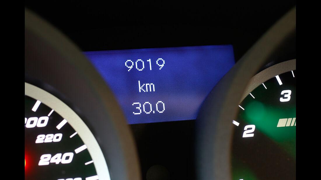 Mercedes SLK 55 AMG, Tachostand