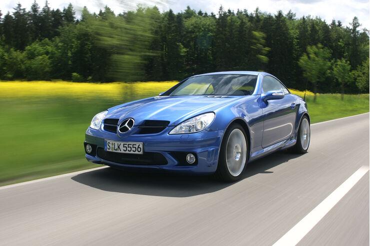 Mercedes SLK 55 AMG: Tune Up; Folge 1: Vom Komfort-Sportler zum Hardcorer 01
