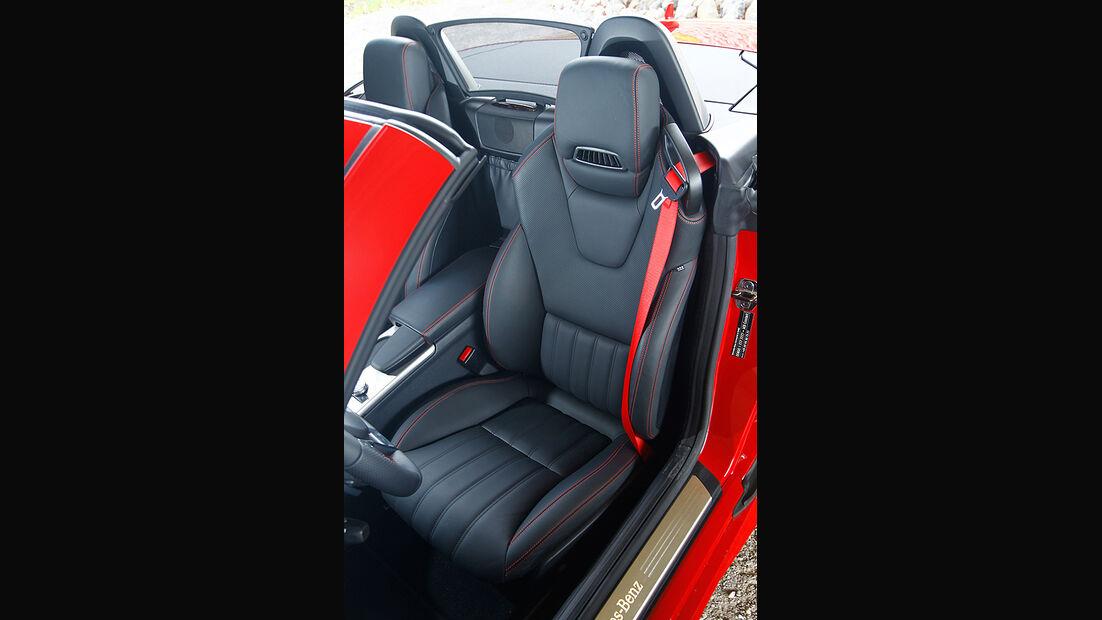Mercedes SLK BlueEFFICIENCY, Fahrersitz