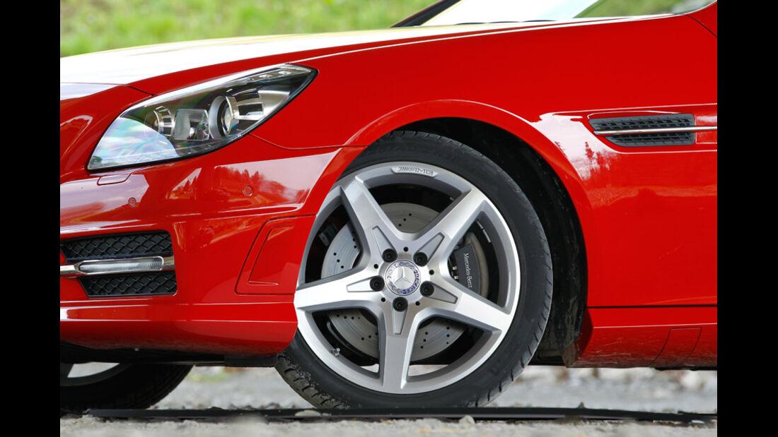 Mercedes SLK BlueEFFICIENCY, Felge, Vorderrad
